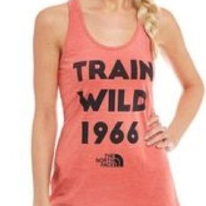 The North Face Tops - NORTH FACE Train Wild Slim Workout Tank Top Large